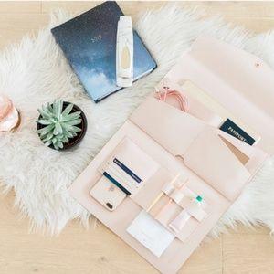 Pink, Glass Ladder Co., Laptop Bag